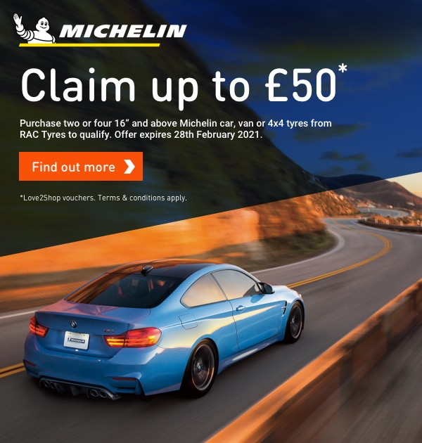 Michelin Gift Cards Jan & Feb  21
